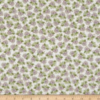 Windham Fabrics Bubbie's Buttons & Blooms Petite Bouquet Oyster Stew