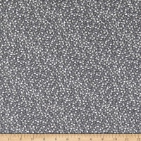Windham Fabrics Bubbie's Buttons & Blooms Sprinkle Hearts Truffle