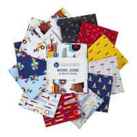 Whistler Studios Work Zone Fat Quarter Bundle Multi