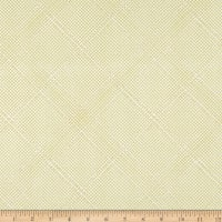 Kaufman Collection CF Metallic Grid Lines Green