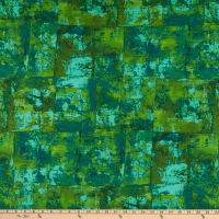 """Kaufman Warehouse District 108"""" Wide Back Abstract Jungle"""