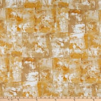 """Kaufman Warehouse District 108"""" Wide Back Abstract Straw"""