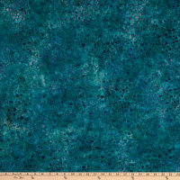 Kaufman Artisan Batiks Modern Twist Triangles Teal