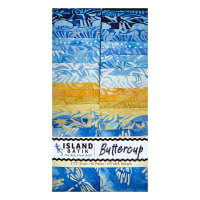 "Island Batik Buttercup 2.5"" Strip Pack Assorted"