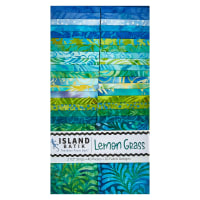 "Island Batik Lemon Grass 2.5"" Strip Pack 40 Pcs. Multi"