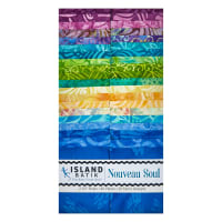 "Island Batik Nouveau Soul 2.5"" Strip Pack Assorted"