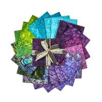 Island Batik William's Garden Fat Quarter Pack 12 Pcs. Multi