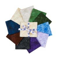 P&B Textiles Fracture Fat Quarter 10 pcs Multi