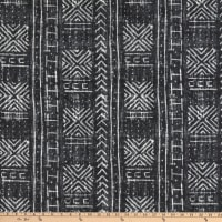 Genevieve Gorder Outdoor Mali Mud Cloth Ebony