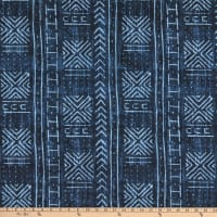 Genevieve Gorder Outdoor Mali Mud Cloth Indigo