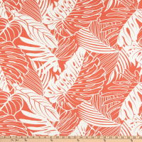 Tommy Bahama Outdoor Leaf Reef Tangerine