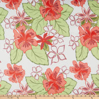 Sunporch Living Outdoor Lagoon Floral Peach/Red/Green