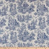 Waverly Rustic Life Toile Indigo