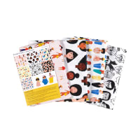Paintbrush Studio Friends & Faces Fat Quarter Bundle 7 pcs Multi