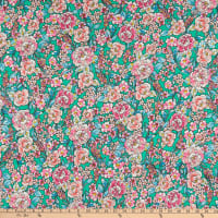 Fabtrends DTY Floral Kelly Pink