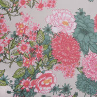 Fabtrends DTY Asian Floral Ivory/Pink