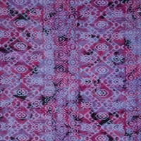 Fabtrends Dobby Knit Abstract Ikat Magenta