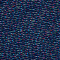 Fabtrends DTY Chevron Dots Navy Coral