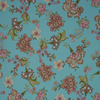 Fabtrends Washer Ghost Floral Coco Peach