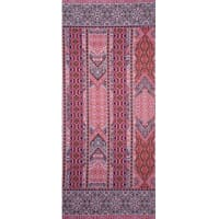 Fabtrends Ity Mosaic Border Coral