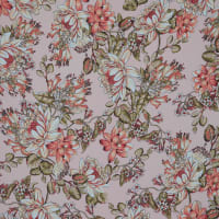 Fabtrends Washer Ghost Floral Blush Melon