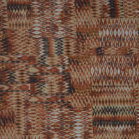 Fabtrends Dobby Knit Ikat Squares Sunset