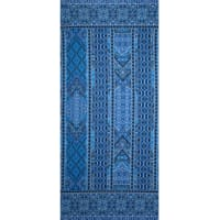 Fabtrends ity Mosaic Border Blue