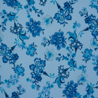 Fabtrends Washer Ghost Floral Denim