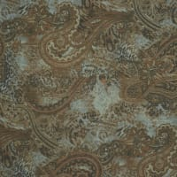 Fabtrends Yoryu With Lurex Animal Paisley Brown