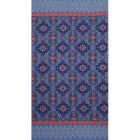 Fabtrends Ity Etnic Blue Pink