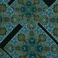 Fabtrends Ity Paisley Olive Jade