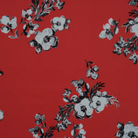 Fabtrends Ity Floral Coral