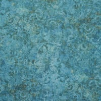Fabtrends CVC Burnout Damask Ocean