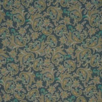 Fabtrends High Multi Chiffon Paisley Olive Taupe