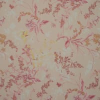 Fabtrends Hi Multi Chiffon Floral On Branches Melon