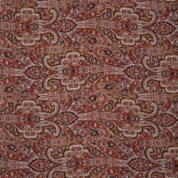 Fabtrends Satin Chiffon Paisley Walnut