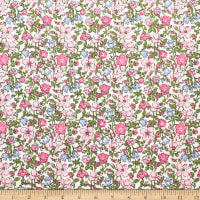Telio Playday Cotton Poplin Flower Pink