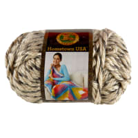 Lion Brand Yarn Hometown USA Yarn Bar Harbor Blizzard