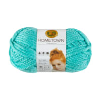 Lion Brand Yarn Hometown Yarn Miami Seafoam