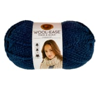 Lion Brand Wool-Ease Thick & Quick Yarn Petrol Blue