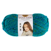 Lion Brand Yarn Wool-Ease Thick & Quick Yarn Bluegrass