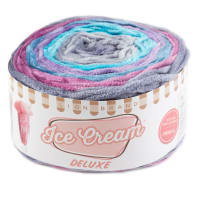 Lion Brand Yarn Ice Cream Deluxe Yarn Jupiter
