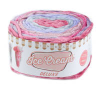 Lion Brand Yarn Ice Cream Deluxe Yarn Malibu