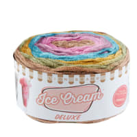 Lion Brand Yarn Ice Cream Deluxe Yarn Juno