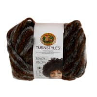 Lion Brand Yarn Turnstyles Yarn Peat