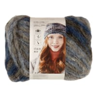 Lion Brand Yarn Turnstyles Yarn Blue Bell