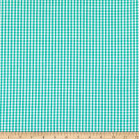 Betzy Stretch Gingham Green/White