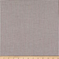 Betzy Stretch Gingham Brown/White