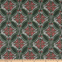 Lacefield Designs Christmas Eve Linen Holly