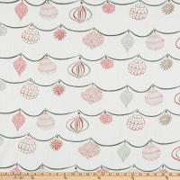 Lacefield Designs Christmas Ornament Linen Berry